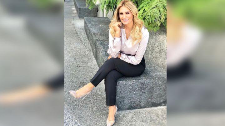 Anette Cuburu derrite los foros de TV Azteca al aparecer en colorido atuendo