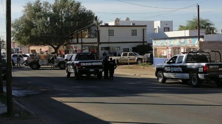 Caborca: Mujer muere atropellada por comando que huía de las autoridades