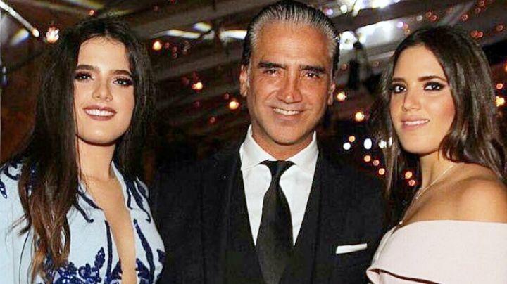 Alejandro Fernández celebra el cumpleaños de sus bellas hijas con tierno mensaje