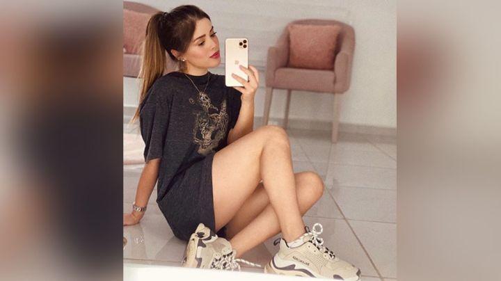 María Fernanda Guzmán, ex de Christian Nodal, deleita pupilas con esta foto