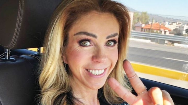 Desde el gimnasio, Rocío Sánchez Azuara luce impactante atuendo deportivo