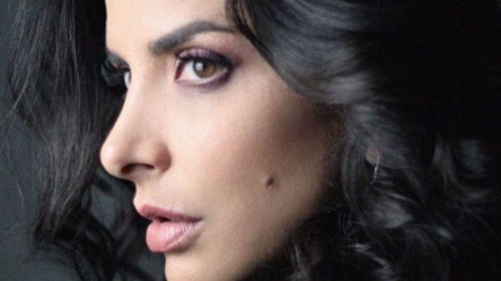 Verónica Toussaint se olvida por completo del maquillaje y enamora a miles en Instagram
