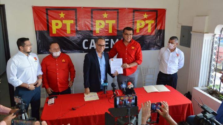 Ovidio Villaseñor se integra al PT; acusa malas prácticas de Mariscal