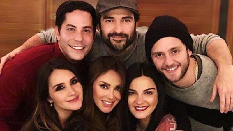 Poncho Herrera y Dulce María si estarán en el concierto de reencuentro de RBD