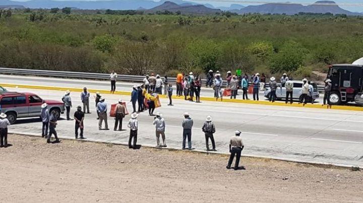 Transportistas de Sonora se manifestarán por bloqueo Yaqui