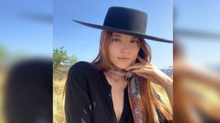 Majo Aguilar, nieta de Flor Silvestre, conquista corazones con su regreso a redes
