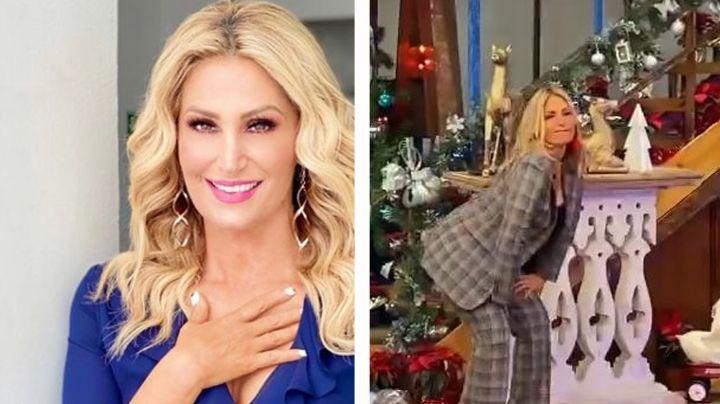 """Anette Cuburu deleita con tremendo baile en 'VLA' y la destrozan: """"Ya siéntese señora"""""""