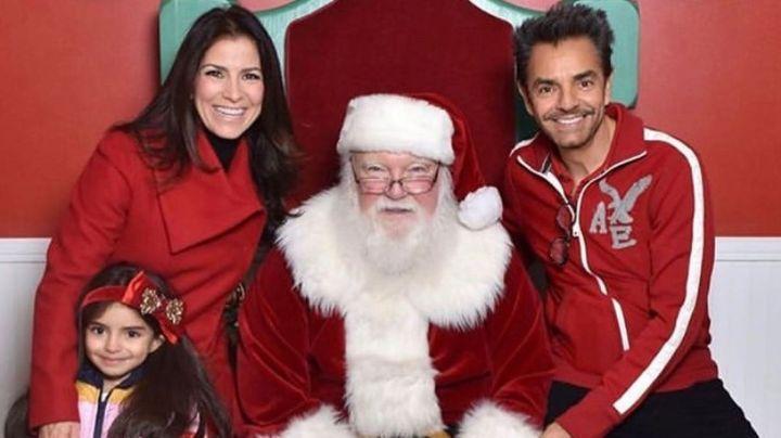 """Los Derbez reciben fuertes críticas tras mostrar su """"extravagante"""" decoración navideña"""