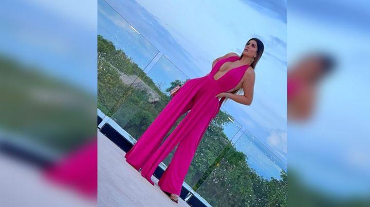 Mariana, la novia 20 años menor que Vicente Fernández Jr., deleita pupilas en redes