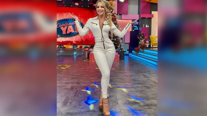 Ximena Córdoba, acalora Televisa al posar con ajustado y muy llamativo vestido