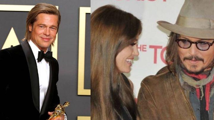 Abogados de Amber Heard señalan que Angelina Jolie engañó a Brad Pitt con Johnny Depp