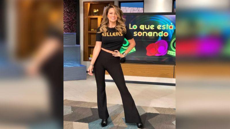 ¡Impresionante! Karla Gómez es captada de encantadora manera en foros de Televisa