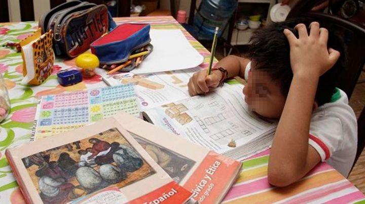 Padres señalan que el distanciamiento de escuelas obstaculiza aprendizaje