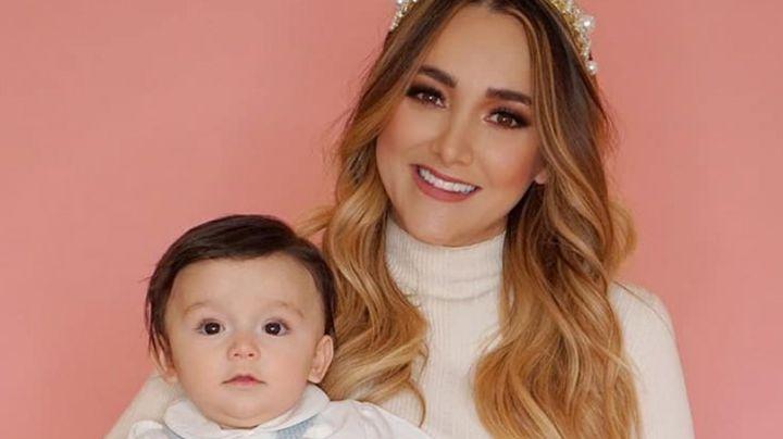 Sherlyn conmueve a todo México al presentar a su hijo a la Virgen de Guadalupe
