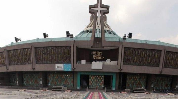 Mujeres policía resultan gravemente lesionadas al ser atropelladas en la Basílica de Guadalupe