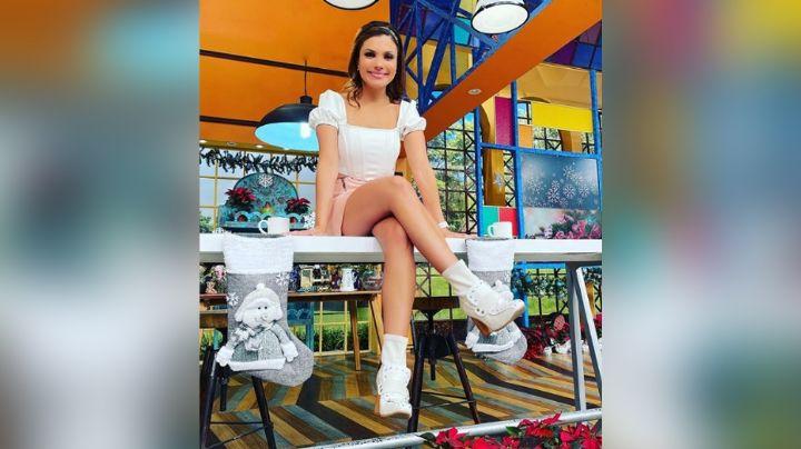 Tábata Jalil enamora a todo TV Azteca en seductor 'outfit' desde foros de 'VLA'