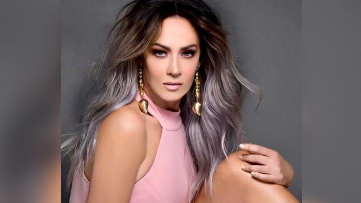 Anette Michel deja en shock a TV Azteca al lucir como jovencita con exótico atuendo