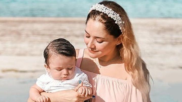 VIDEO: Sherlyn presume en redes las tiernas carcajadas de su bebé André