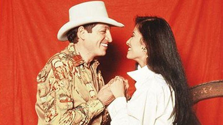 Revelan que Selena Quintanilla mantendría un 'amorío' con un integrante del grupo Bronco
