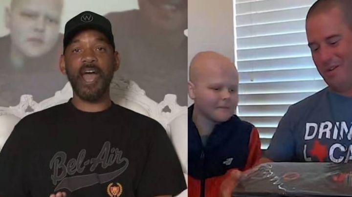 Will Smith conmueve a todos al regalarle un PlayStation 5 a un niño con cáncer