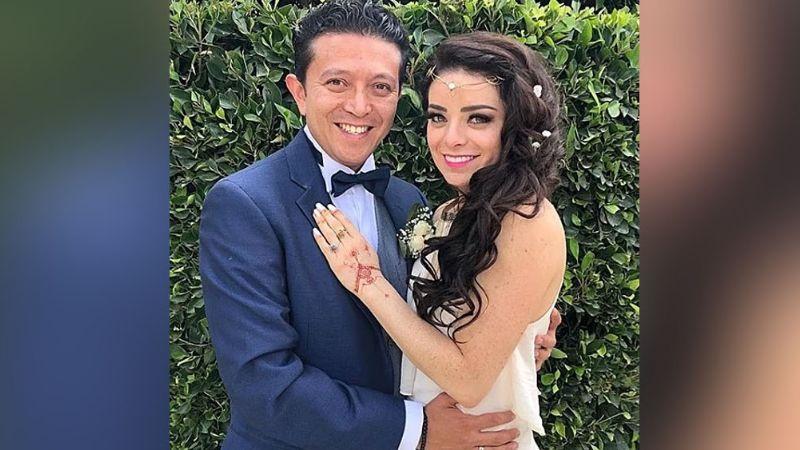 Violeta Isfel y su esposo Raúl Bernal festejan dos años de feliz matrimonio