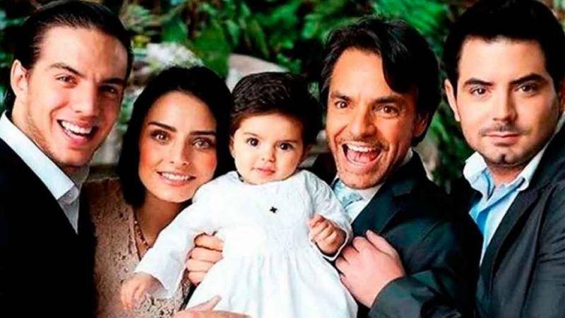 """Eugenio Derbez celebra orgulloso su faceta como padre: """"Lo más importante en mi vida"""""""