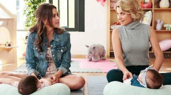 Paulina Goto y Ludwika Paleta no están embarazadas; es publicidad para nueva serie