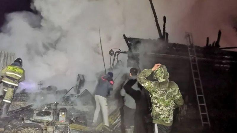 Desgarrador: Se incendia residencia de ancianos en Rusia y deja sin vida a 11 personas