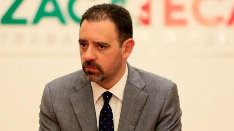 """Alejandro Tello, gobernador de Zacatecas, tiene Covid-19: """"Cuiden a sus familias"""""""