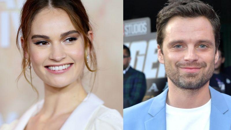 Lily James: Tras abandonar a Chris Evans por hombre casado, la vinculan a otro actor de Marvel