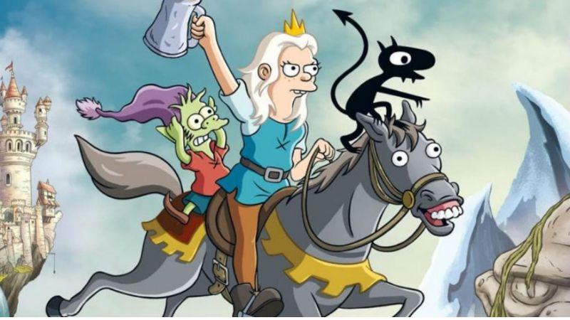 'Desencanto', serie hermana de 'Los Simpson revela nuevos e importantes detalles