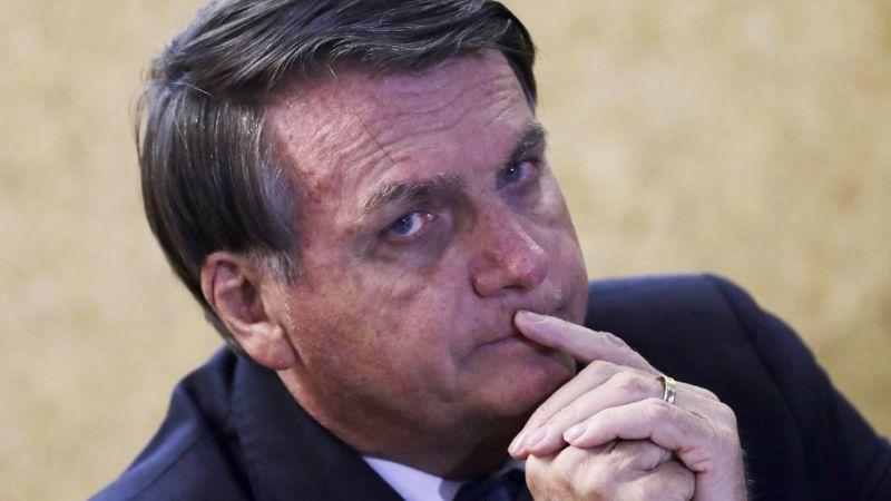Jair Bolsonaro, presidente de Brasil, rechaza vacunarse contra el Covid-19