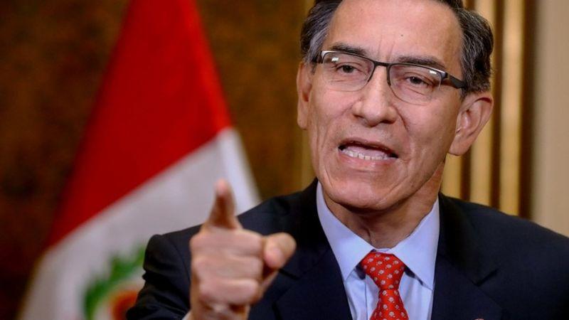 """Martín Vizcarra, expresidente de Perú, es acusado por """"liderar organización criminal"""""""