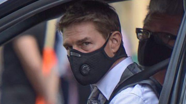 VIDEO: ¡Está furioso! Tom Cruise explota contra el equipo de producción de 'Misión Imposible 7'