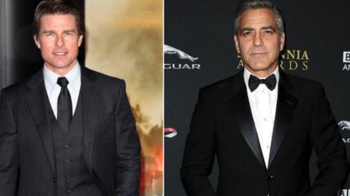 George Clooney opina sobre Tom Cruise gritando furioso a miembros de producción