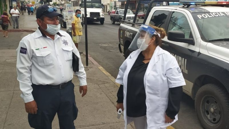 Autoridades instalan filtros sanitarios al sur del Puerto para detección del Covid
