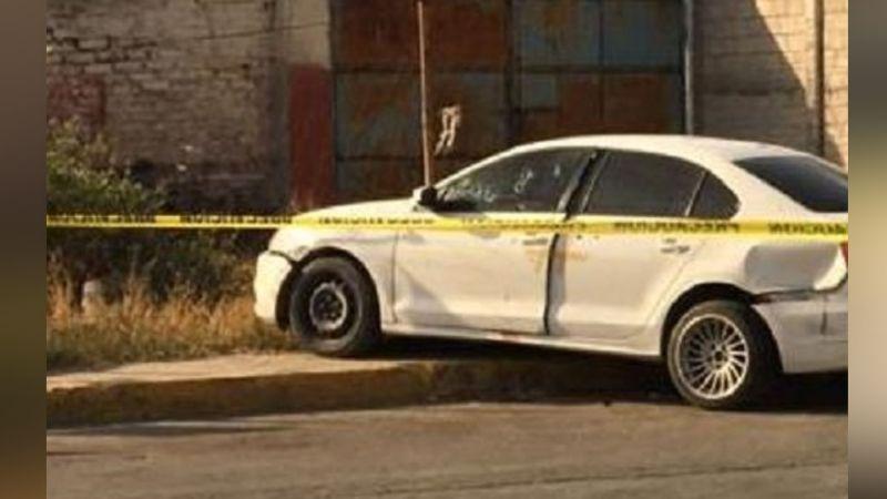 Sin misericordia alguna, gatilleros le arrebatan la vida a un conductor de varios tiros