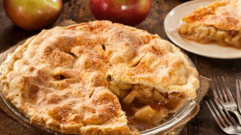 Conciente tu familia o amigos en esta Navidad con un delicioso pay de manzana