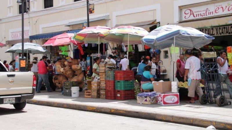 Vendedores ambulantes amenazan con salir a vender sin permiso de la autoridad