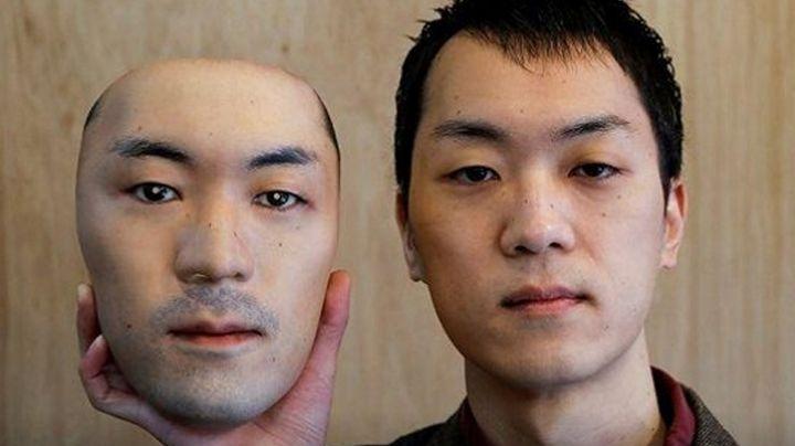 ¡Extraordinario! En Japón, crean mascarillas hiperrealistas con el rostro de personas