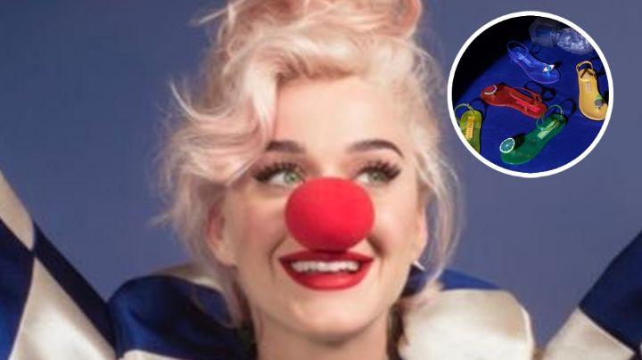 Katy Perry se vuelve tendencia por las burlas en redes sociales de sus nuevas sandalias
