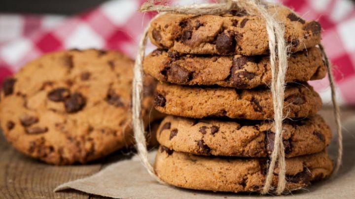 ¡Hazlas tú mismo! La mejor receta para hacer galletas con chispas de chocolate fácil y rápido
