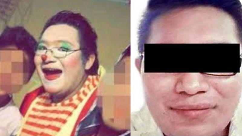 De pesadilla: Dan 68 años de cárcel al 'Payaso Yiyín'; pedía fotos íntimas a niños por Facebook