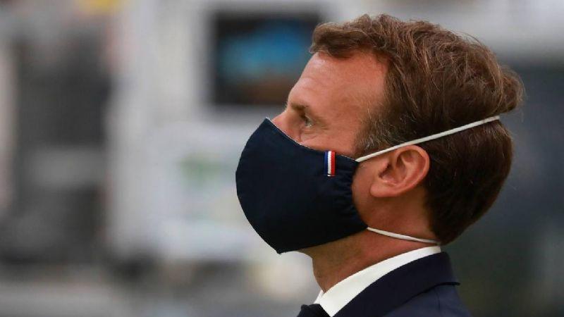 Emanuel Macron, presidente de Francia, se autoaisla al dar positivo a Covid-19