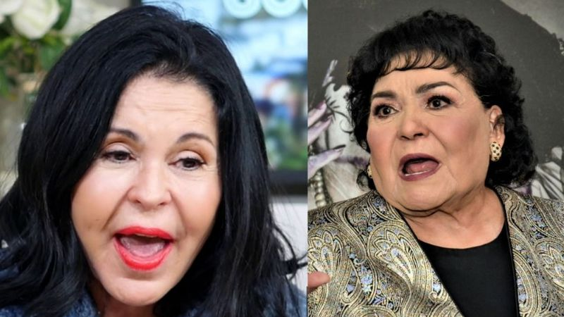 """María Conchita Alonso tiene Covid-19 y Carmen Salinas estalla: """"De tanto que te has inyectado la cara"""""""