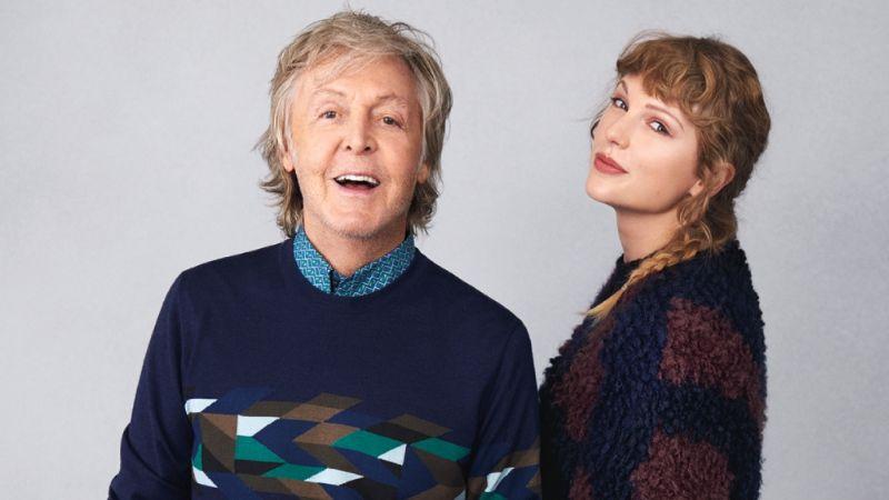 Paul McCartney hace fuertes revelaciones sobre el nuevo álbum de Taylor Swift