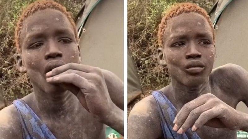 VIDEO: Joven de tribu africana prueba el chocolate por primera vez y se hace viral