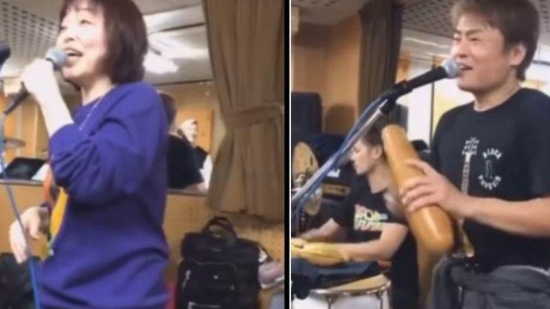 """""""Algo fuera de lo común"""": Una banda de salsa japonesa causa sensación en redes sociales"""