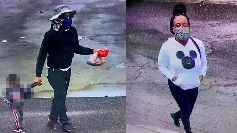 Una pareja abandonó a un pequeño de 2 años afuera de una tienda en Misisipi, EU
