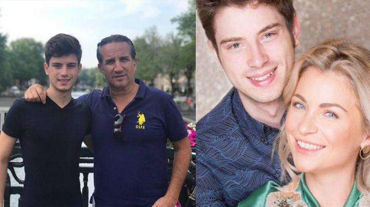 Nicolás, el hijo de los actores Plutarco Haza y Ludwika Paleta, debutará como cantante